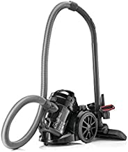 BLACK+DECKER Multi-Cyclonic Bagless Corded Canister Vacuum Cleaner with 6 Stage Filtration, 1480 W Max Power,