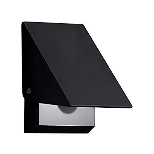 Helestra Free LED Außenwandleuchte, graphit inkl. Konverter BxHxT 10x15x7cm LED 9W 3000K 936lm IP54