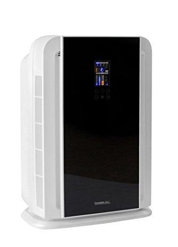 Comedes LR 700 Luftreiniger, Rauchverzehrer & Luft-Ionisator, 6-Stufen-Multifunktionsfilter inkl. HEPA-Filter und Aktivkohle-Filter, Ideal für Allergiker und Raucher, Räume bis 50m²
