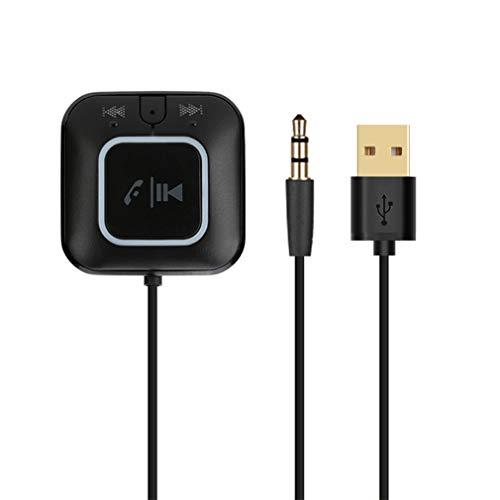JIEGEGE Empfänger Bluetooth 4.0 Empfänger Freisprecheinrichtung, Kabelloser Bluetooth-Audio-Adapter Für Auto-Audiosysteme Mit NFC-Funktion, Freisprechfunktion