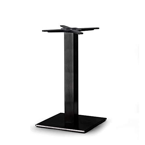 Scab Set 2 Design Tiffany Base Table h. 73 cm Pilier carré Noir