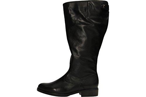 Gabor Damenschuhe 52.799.57 Stiefel Damen Schnürstiefel, Schnürboots, Boots, Stiefel schwarz (Micro)