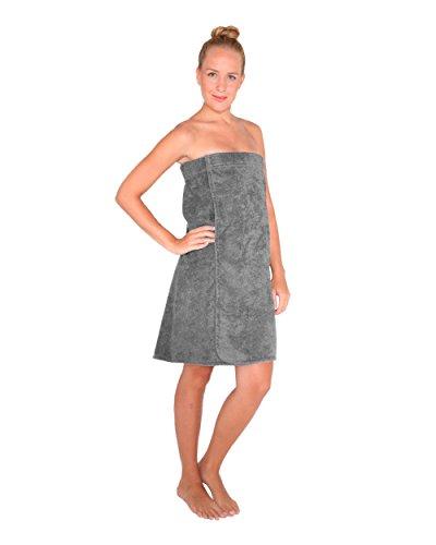 Arus-Saunakilt-Damen, Größe: S/M, Farbe: Grau