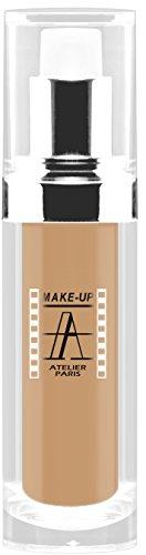 Make-Up Atelier Paris Waterproof Liquid Fondation FLW3A Medium Apricot, Wasserfestes Make-Up (Pale Apricot) (Atelier Paris Make-up)