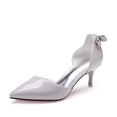 Chaussures printemps/Sweet asakuchi de chaussures pointues/Chaussures à talon avec la version coréenne casual ARC C