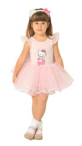 Hello Kitty Ballerina Kostüm (Kostüm Kitty Hello)