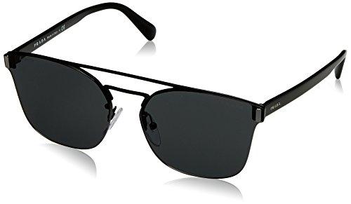 Prada Herren 0PR67TS 1AB5S0 63 Sonnenbrille, Schwarz (Black/Grey)