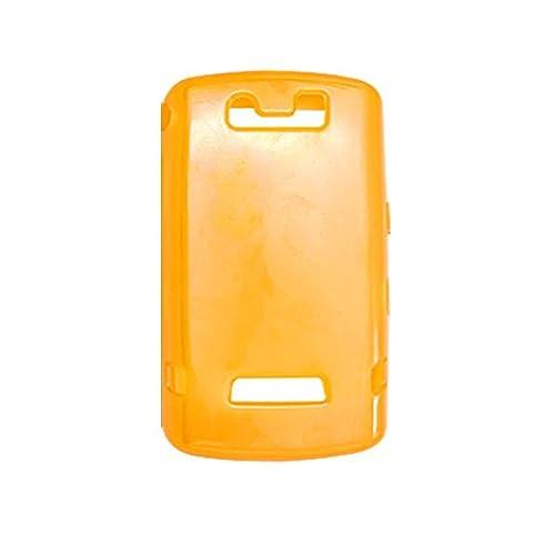 Klare orange Haut-weiche Kunststoff-Gehäuse für Blackberry 9530