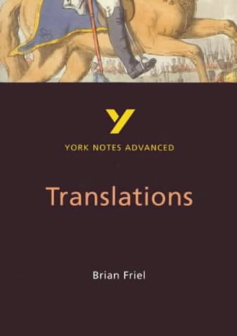 an introduction to the analysis of brian friels translations Translations act 1 summary & analysis from litcharts | the creators of sparknotes  translations by brian friel  this is the play's first introduction of owen.
