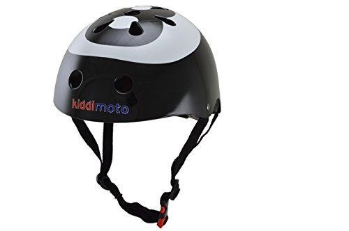 Kiddimoto 2kmh001m - Design Sport Helm Eight Ball, Billardkugel Gr. M für Kopfumfang 53-58 cm, 5-12+ Jahre