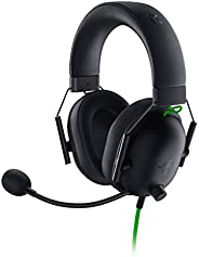 Razer BlackShark V2 X Gaming Headset: 7.1 Surround Sound Capable - 50mm Drivers - Memory Foam Cushion - for PC