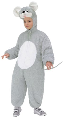 Widmann - Kinderkostüm Maus aus - Maus Halloween Kostüm