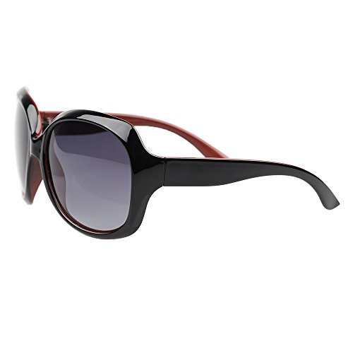 BLDEN Mujer Grande Gafas De Sol moda polarizadas gafas UV400 Protección Para Conducción GL3113-INRED