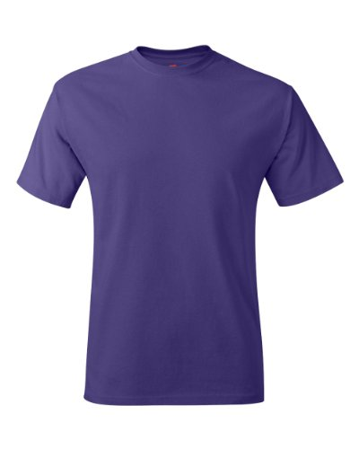 Hanes–adulto Ecosmart maglietta Purple