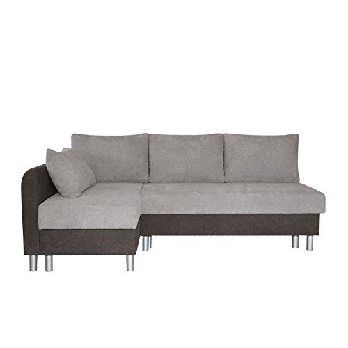 Ecksofa Malta! Sofa Eckcouch Couch! mit Schlaffunktion und Bettkasten! L-Form Schlafsofa, Farbauswahl, Velour, Bettsofa