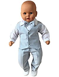Cocolina - Ropa de bautizo - Manga Larga - para bebé niño