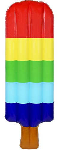 greenco Riesige aufblasbare Popsicle ICES Float 177,8 cm lang