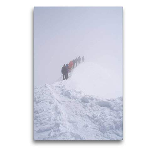 CALVENDO Tela in Tessuto di Alta qualità, 50 cm x 75 cm di Altezza, Motivo: Grandi veneziani, Vertice 2006, Immagine su Telaio con Cunei, su Vera Tela, Stampa su Tela Natur Natura