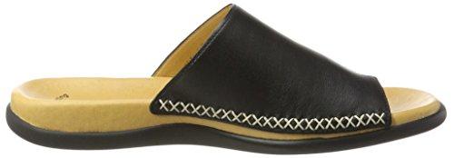 Gabor Shoes 63.700, Ciabatte Donna Nero (Schwarz 57)