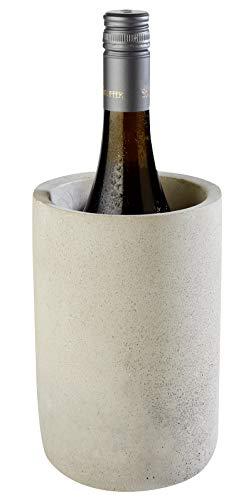 """Buddy´s Bar - Flaschenkühler """"Concrete"""", hochwertiger Sektkühler aus Beton, möbelschonende..."""