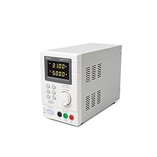 VELLEMAN - LABPS3005DN Programmierbares Labornetzgerät, maximal LED-Displays mit USB 2.0-Schnittstelle, Weiß-grau 400470