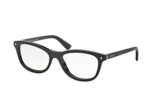 Prada Für Frau 05r Black Kunststoffgestell Brillen, 51mm