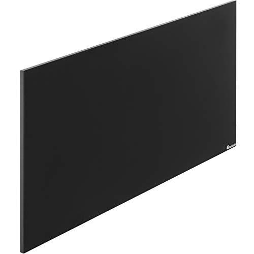 TecTake 800695 Tafel Infrarotheizung, rahmenlos, mit Kreide beschreibbar, IP44, TÜV GS geprüft, Überhitzungsschutz, inkl. Wand- und Deckenhalterung - diverse Größen (900 Watt | Nr. 403256)