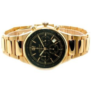 Oskar Emil Men's Phoenix Black–Wristwatch