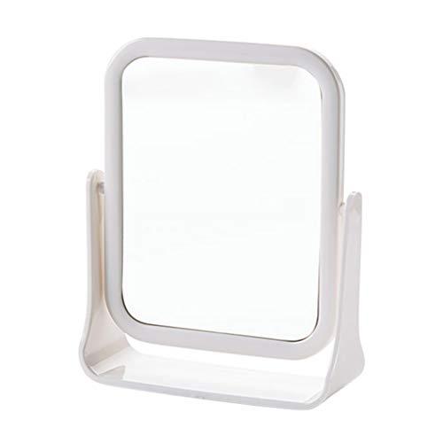 Kongqiabona Miroirs de Maquillage en Acier Inoxydable Miroir de courtoisie pour Sac /à Main Voyage Cosm/étique Rectangulaire De Poche Compact Miroir