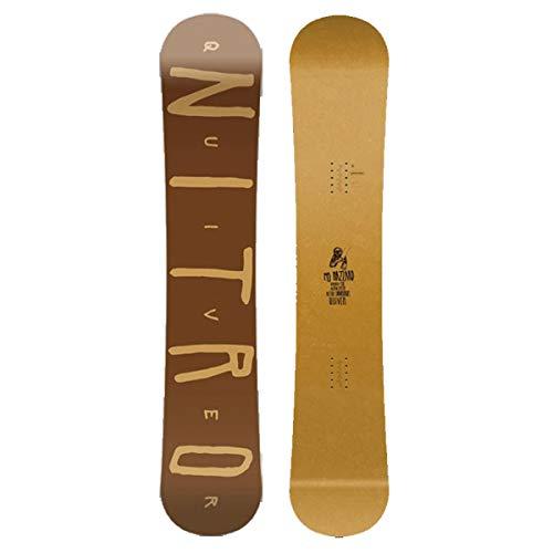 Nitro Snowboards Herren Quiver Hazzard BRD'19 Premium Old School Twin Tip Freestyle Park Boards, 145 -