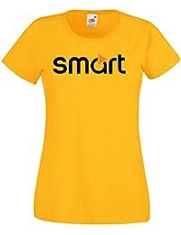 695103b2c8899 Camiseta Camisa Mujer T-Shirt tee Deportiva Smart Team Italia Motorsport  Coche Moto Auto JHK