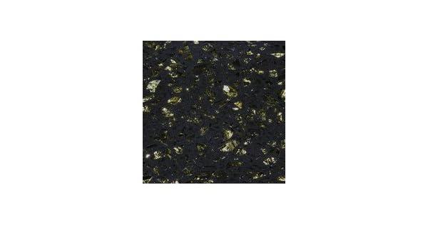 Crystalstone cosmos nero con oro scintilla quarzo piastrelle qz cos