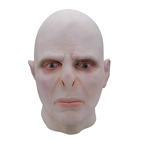 baoqsure Harry Potter Lord Voldemort Masque Boss Latex Maske Cosplay Scary Minecraft Terrorator Maske (Cosplay Kostüm Minecraft)