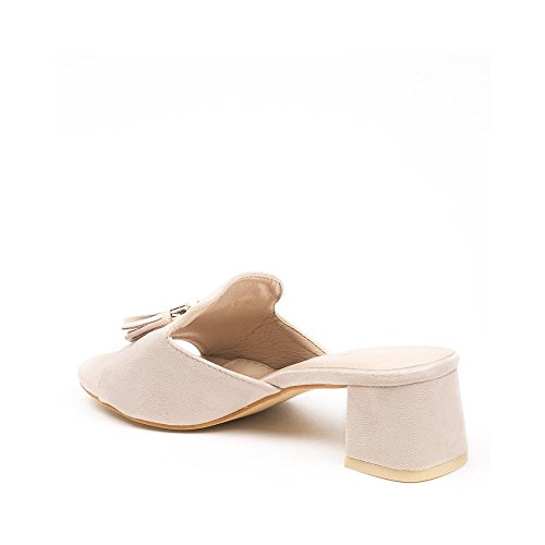 Ideal Shoes ,  Infradito donna Beige