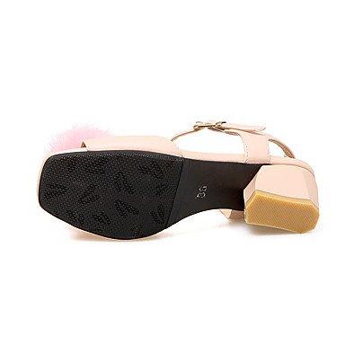 LvYuan Da donna-Sandali-Serata e festa Formale Casual-Altro-Quadrato-Finta pelle-Rosa Bianco Pink