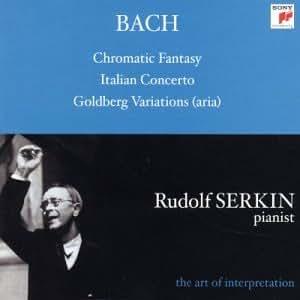 Bach : Fantaisie Chromatique / Concerto Italien / Variations Goldberg (aria)