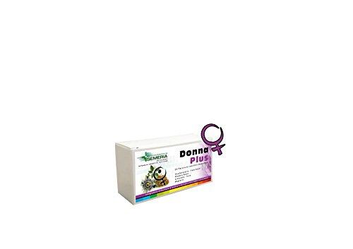 Donna Plus 10 Flaconcini Energetici con Eleuterococco, Schisandra, Fieno greco, Ferro e Magnesio
