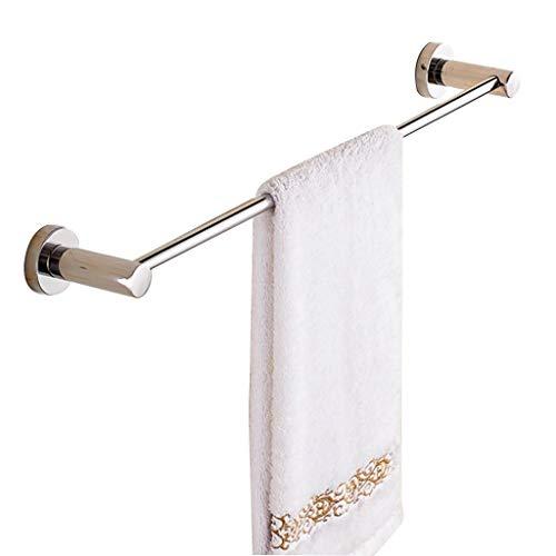 Preisvergleich Produktbild WSQ Towel Rack Wand Handtuchhalter Einzelstange SUS 304 Edelstahl Handtuchhalter Bad Handtuchhalter Küchentuchhalter Pool Handtuchhalter (Size : 120CM)