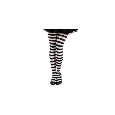 Guirca Fiestas GUI18279 - schwarz-Weiss gestreifte - Schwarz Und Weiß Gestreifte Kostüm