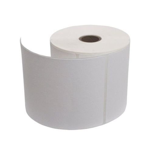 100 x 150 mm, thermal transfer barcode labels, paper white, core size 1 inch, across 1 up, face out, wind up in roll, permanent adhesive, 400 labels in roll
