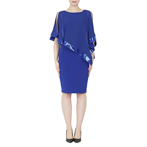 Joseph Ribkoff Royal Saphire Dress Style - 154377 Collection 2019