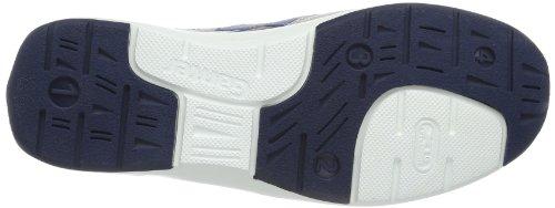 Ganter Gianna, Weite G 7-204451-02330 Damen Sneaker Mehrfarbig (weiß/skyblue 0233)