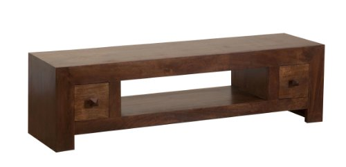 dark wood for furniture. contemporary wood homescapes dakota led lcd plasma tv unit with 2 drawers and large shelf dark  100 solid mango wood furniture no veneer and for g