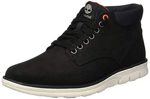 Timberland Herren Bradstreet Chukka Boots, Schwarz (Black Nubuck W/Ripstop 1), 42 EU - Chukka Boots Timberland Herren