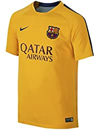 Nike - Camiseta de niños fc barcelona pre-match training 2 2015-2016 d42447b68fb