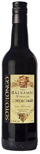 Vinagre balsamico al PX SOTOLONGO reserva 15 750 ml