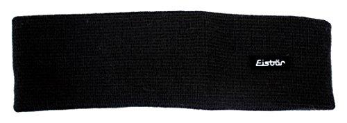 Eisbär Stirnband Havel, schwarz, One Size