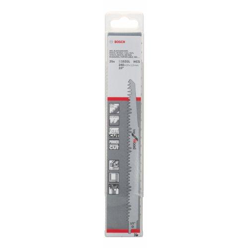 Bosch 2 608 650 465 - Hoja de sierra sable S 1531...