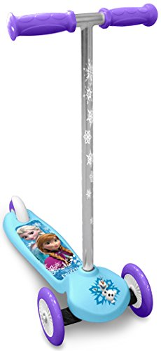 Stamp Patinete infantil de Frozen, color blanco.