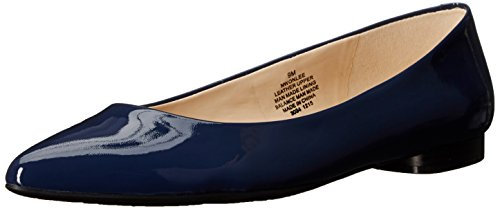 Nine West Onlee Toe Pointy synthétique plat Navy synthetic